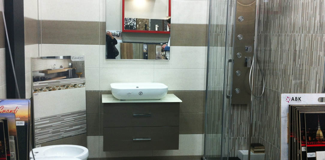Arredamento bagno, box e piatti doccia