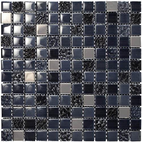 Piastrelle a mosaico Samarcanda per rivestimento 30x30 colore smoke